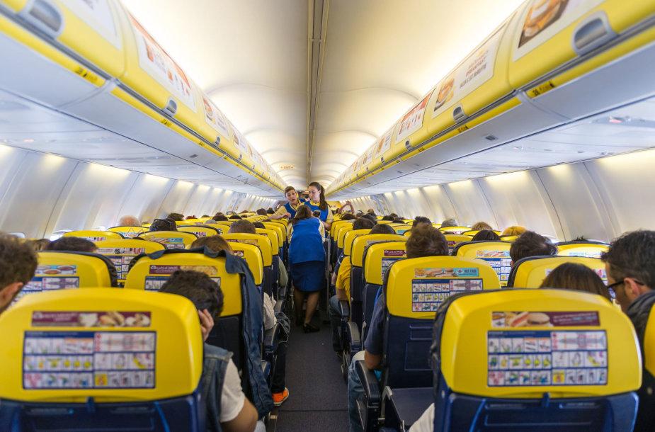 Gali būti reikalaujama, kad lėktuvai nebūtų visiškai pilni