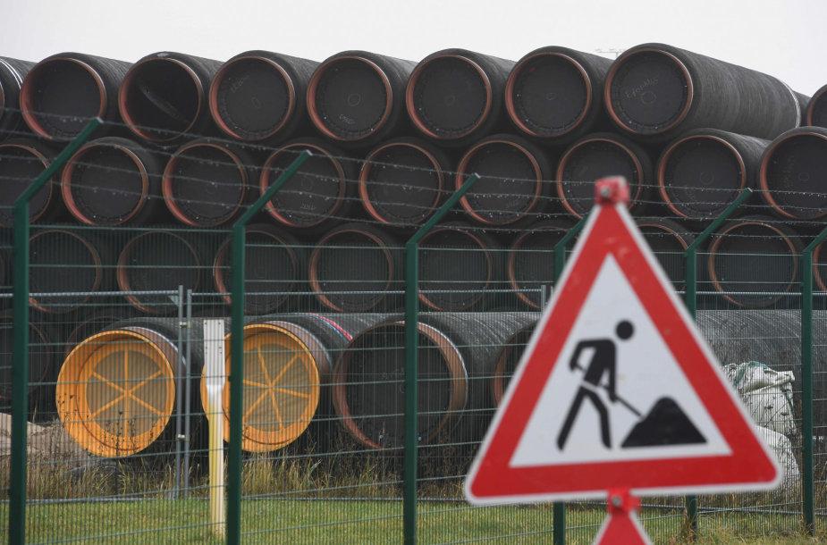"""""""Nord Stream 2"""" vamzdžiai"""