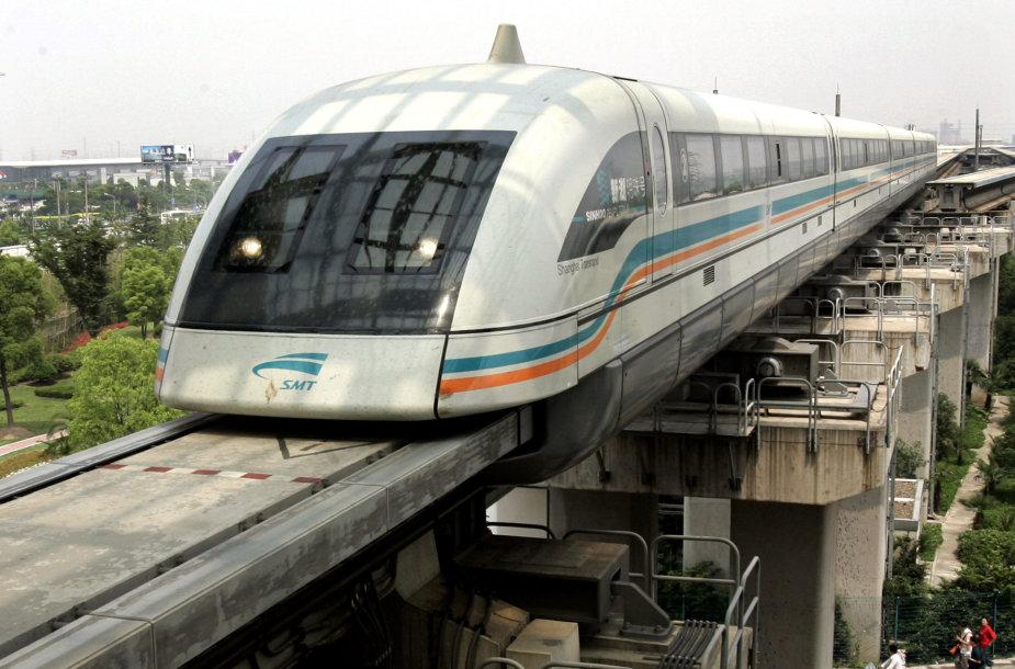 Magnetinės levitacijos (maglev) traukinys