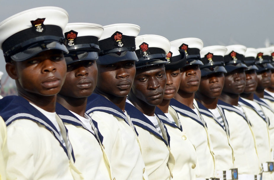 Nigerjos karinio jūrų laivyno kariai