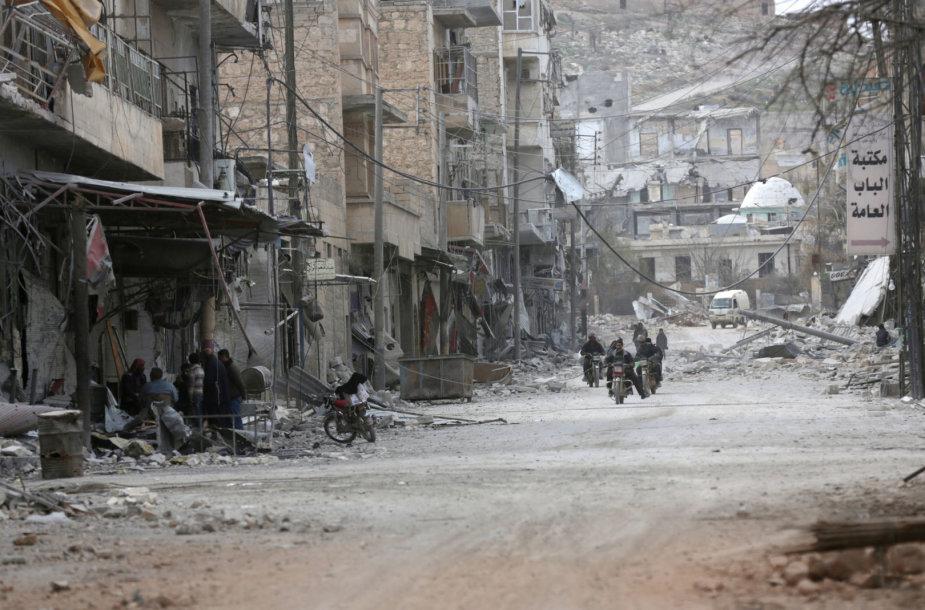 Sugriautas Rytų Alepas