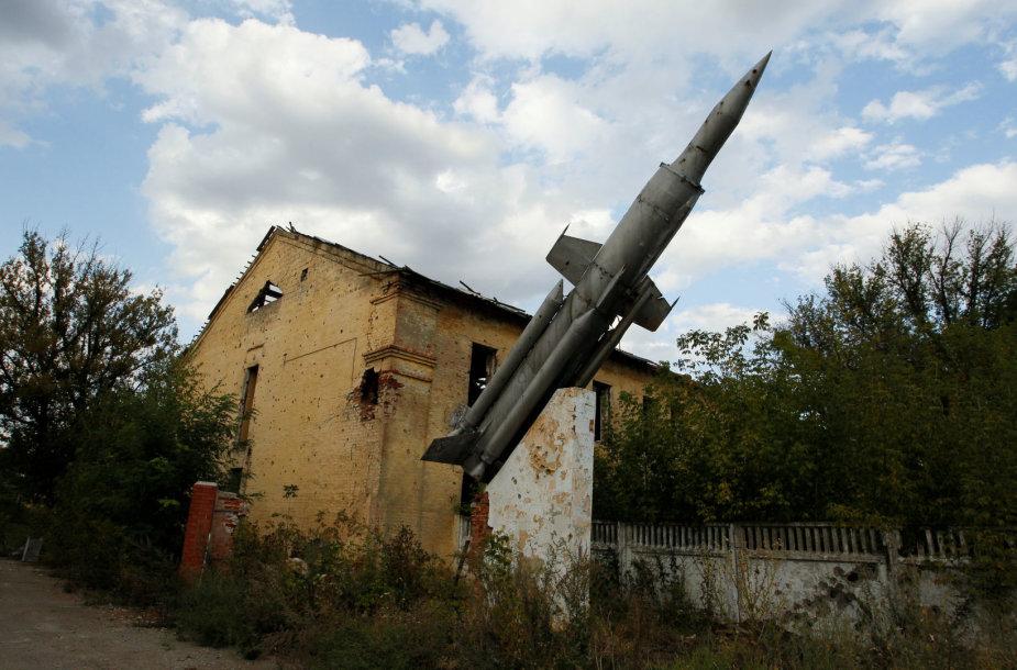Separatistų kontroliuojamo Donecko kasdienybė