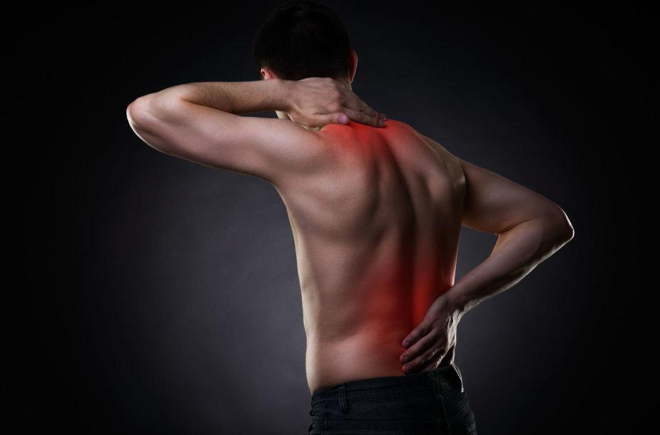 Nugaros ir kaklo skausmai