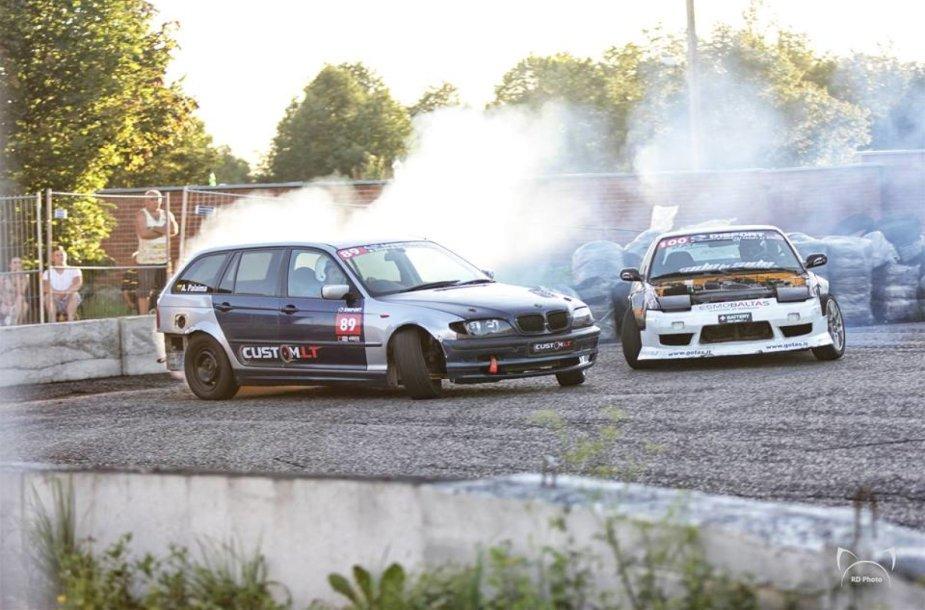 """D1Sport Drift Wars"" varžybos Vilniuje"