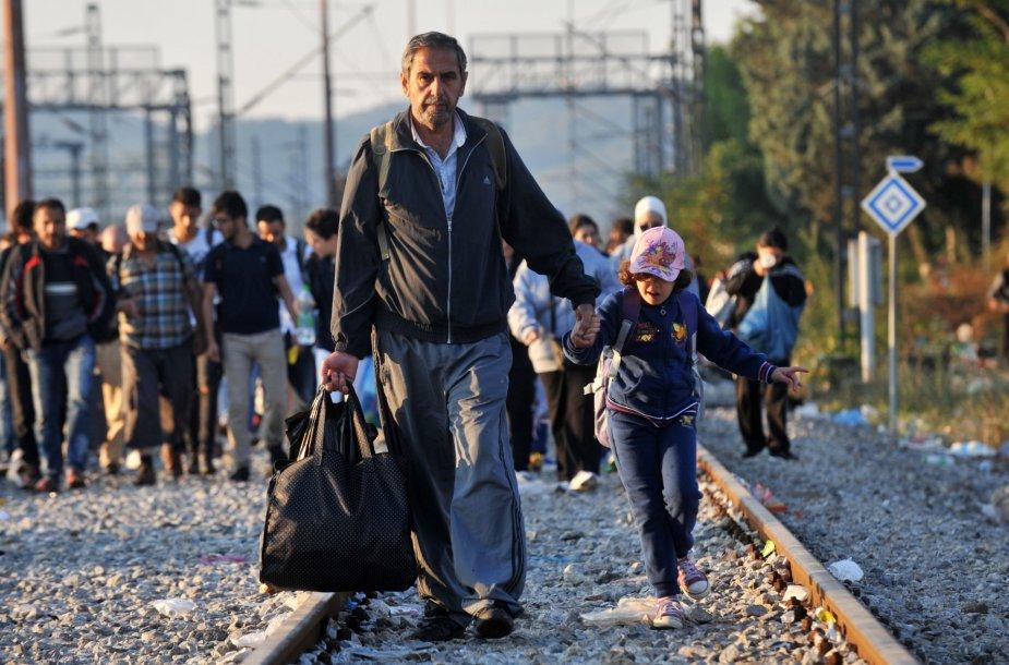 Pabėgėliai Graikijoje