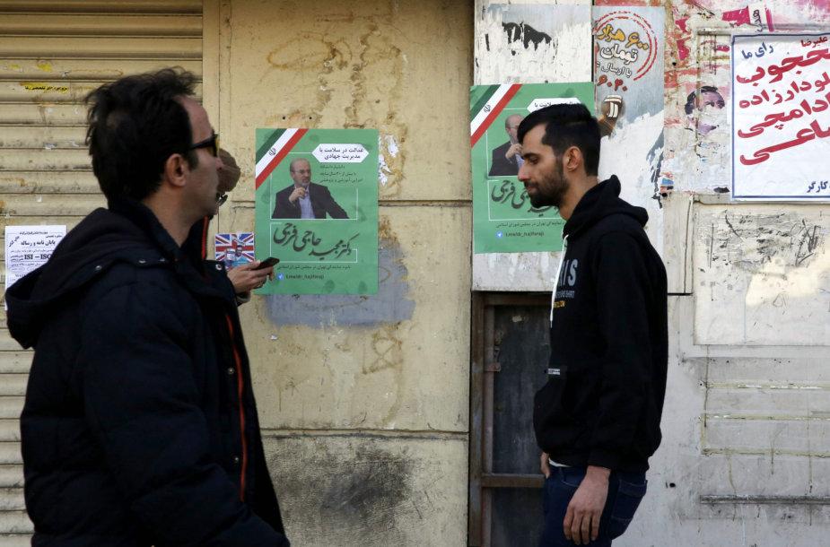 Iranas ruošiasi rinkimams