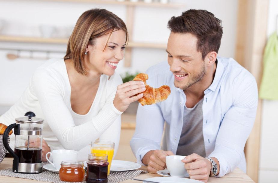 Pora valgo pusryčius