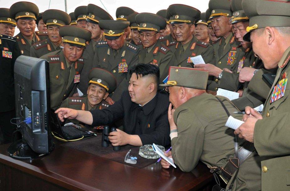 """""""WannaCry"""" virusas gali būti Šiaurės Korėjos programišių darbo vaisius"""