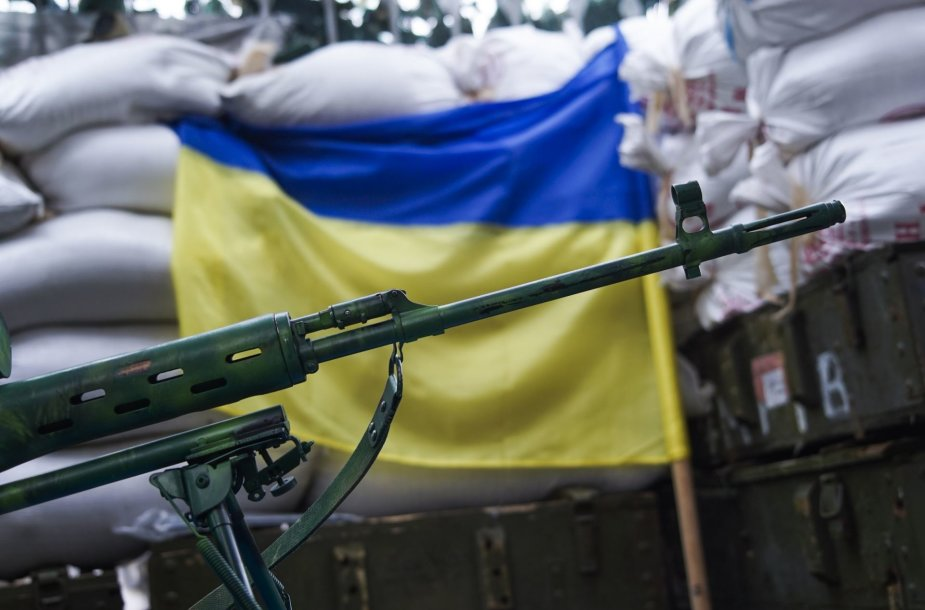 Ukrainos kariai Marjinkoje vis dar kaunasi nesibaigiančiame kare