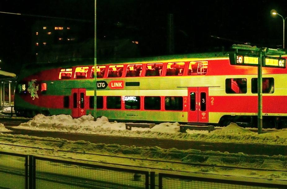 Trispalvės traukinys