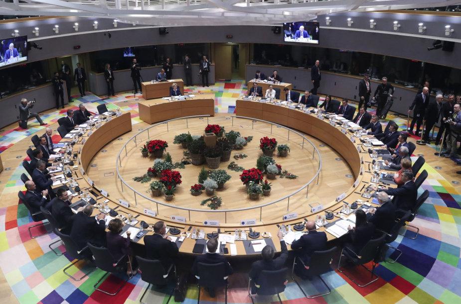 Europos Sąjungos (ES) šalių vadovų susitikimas