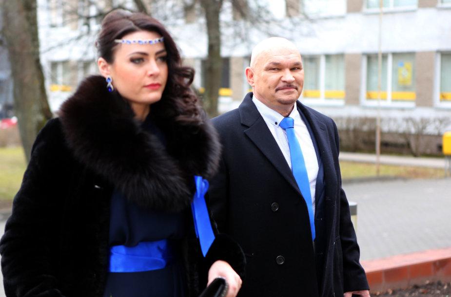 Arvydo Vilčinsko ir Rūtos Gajauskaitės vestuvių akimirka