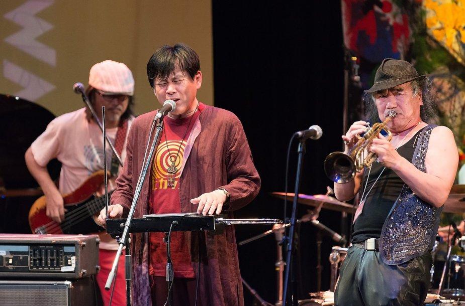 """Japonų grupė """"Hikashu"""""""