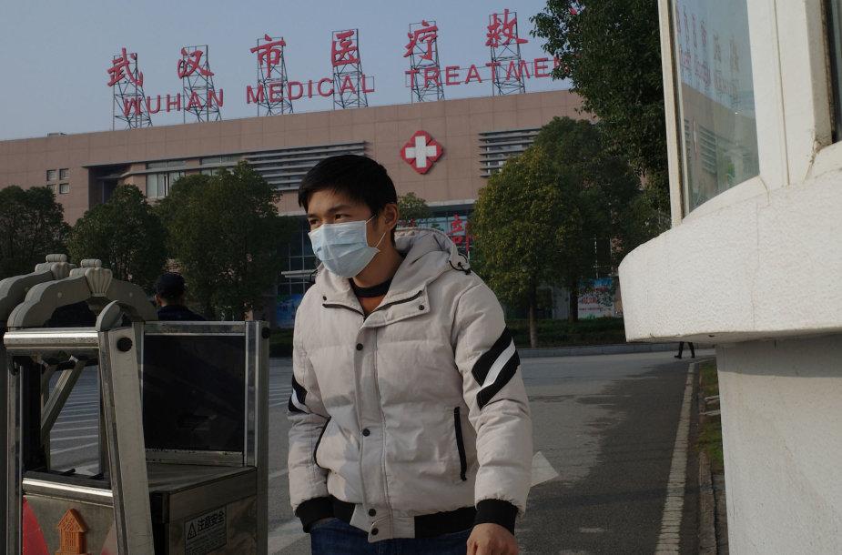 Kinijoje daugėja susirgusiųjų paslaptinga infekcija