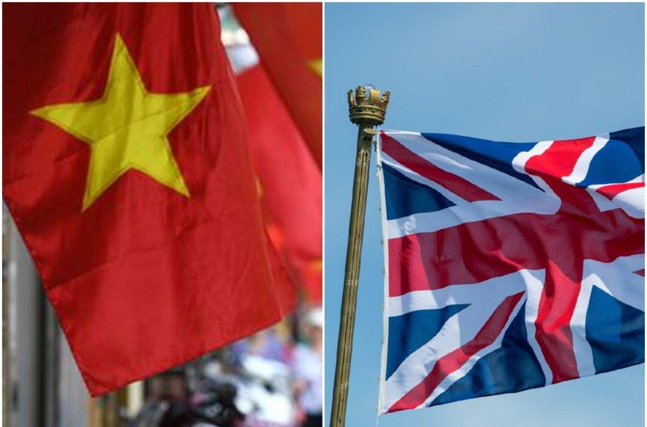 Vietnamo, Didžiosios Britanijos vėliava