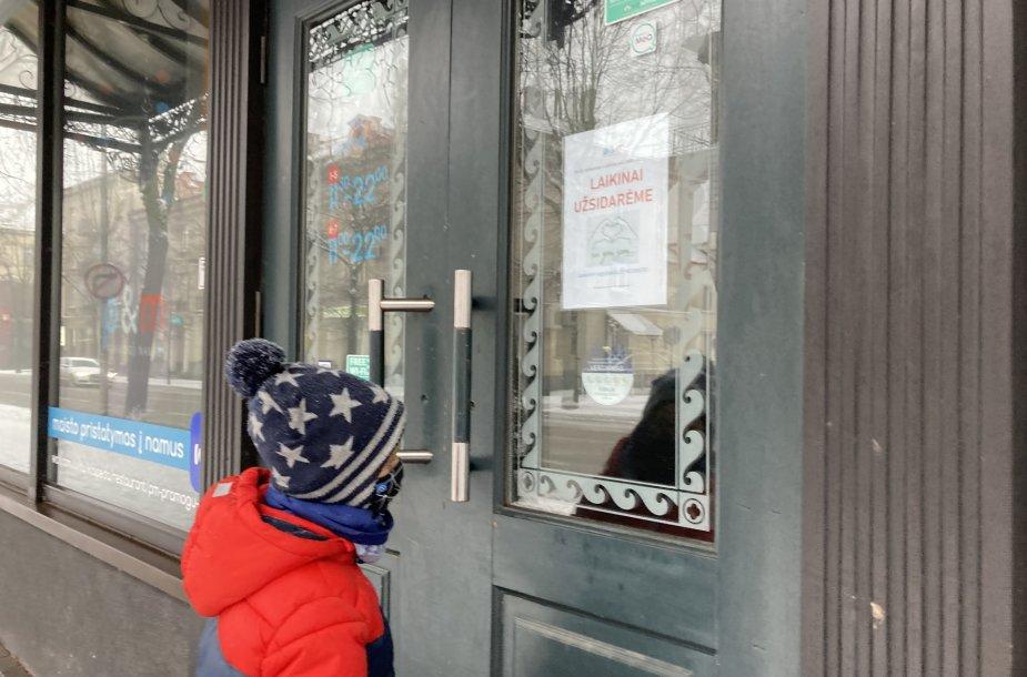 Kai kurios kavinės per karantiną apskritai stabdė veiklą