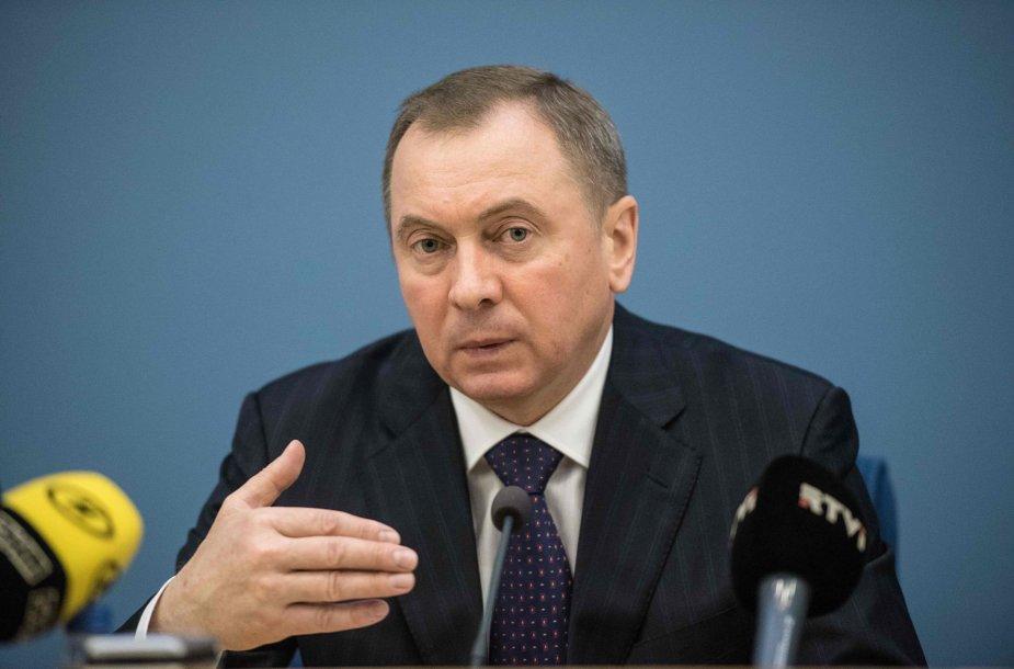 Baltarusijos užsienio reikalų ministras Vladimiras Makėjus