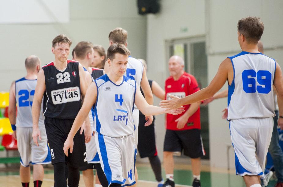 Kaune vyko Lietuvos žurnalistų krepšinio čempionatas.