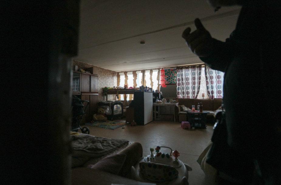 Namas, kuriame gyveno žuvusioji