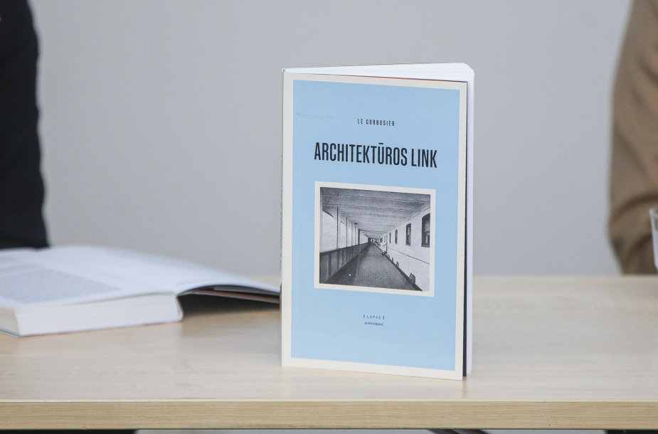 """XX a. manifestas šiandien"": Le Corbusier knygos ""Architektūros link"" pristatymas"