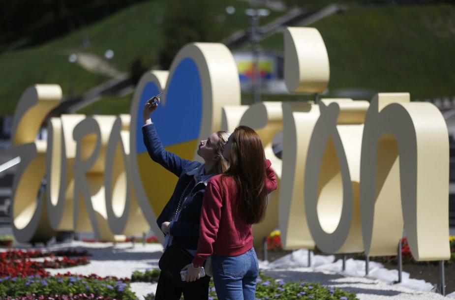 """Kijevas prieš """"Euroviziją"""""""