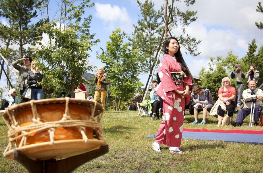 Festivalis Japoniškome sode Kretingos rajone