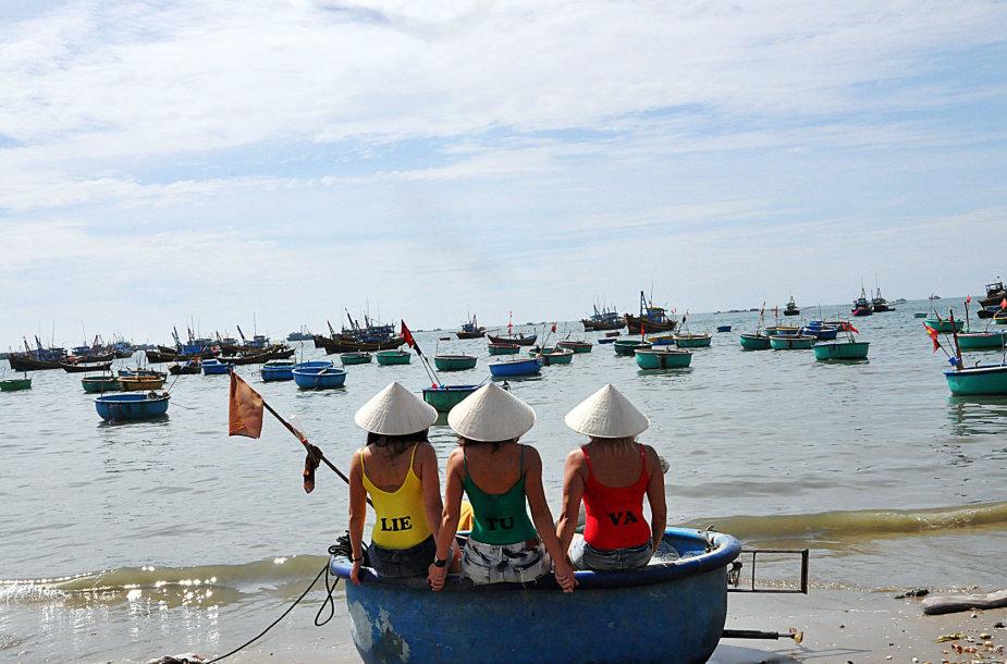 Lietuvaičių kelionės Vietname pradžia