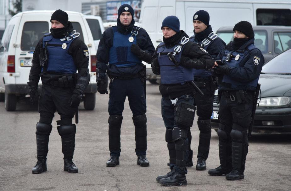 Ukrainos policija