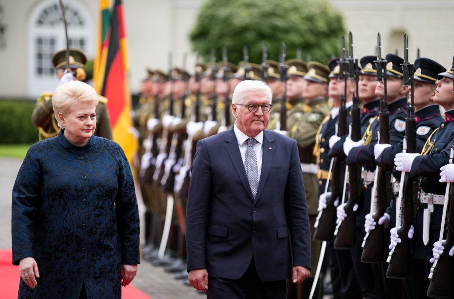 Dalia Grybauskaitė ir Frankas Walteris Steinmeieris