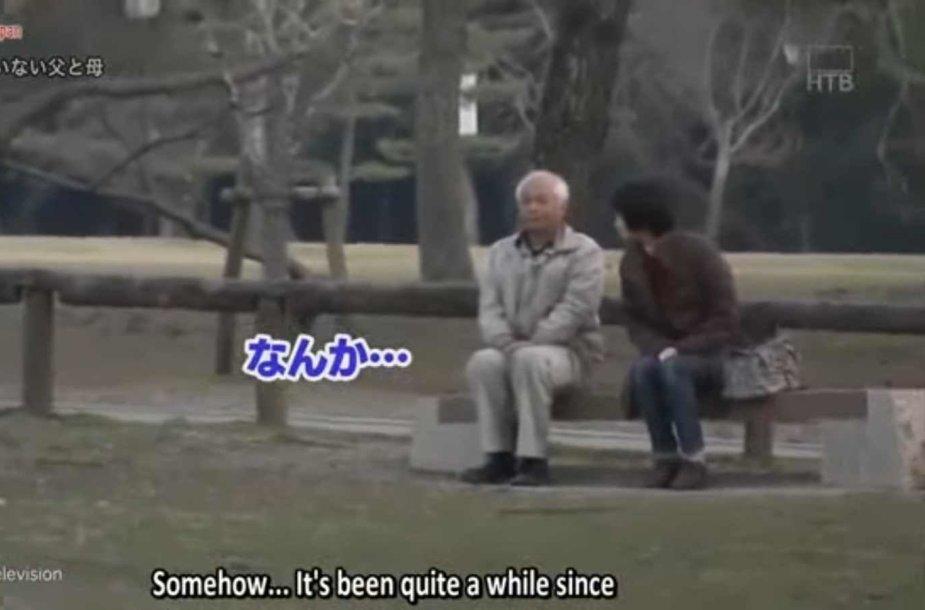Slapta kamera nufilmavo pirmą sutuoktinių iš Japonijos pokalbį per 20 metų