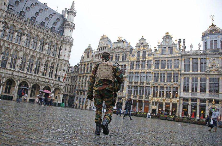 Pareigūnai Briuselyje