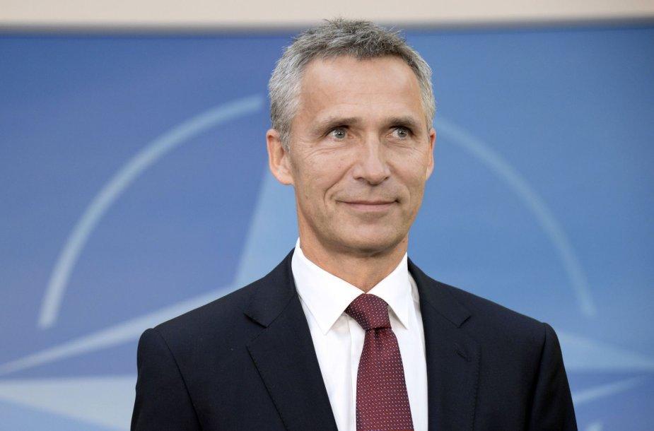 NATO generalinis sekretorius Jensas Stoltenbergas