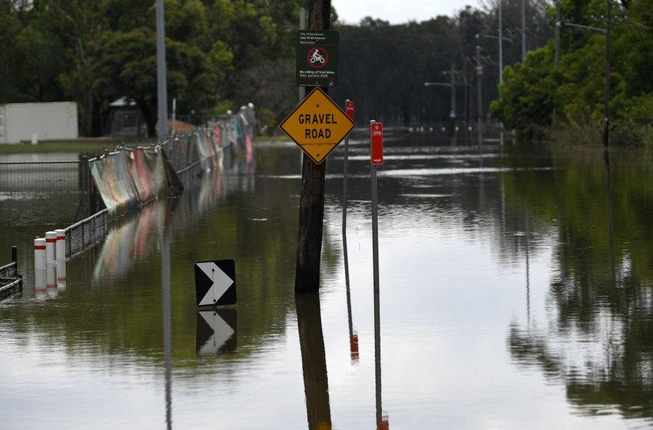 Potvynis Australijoje