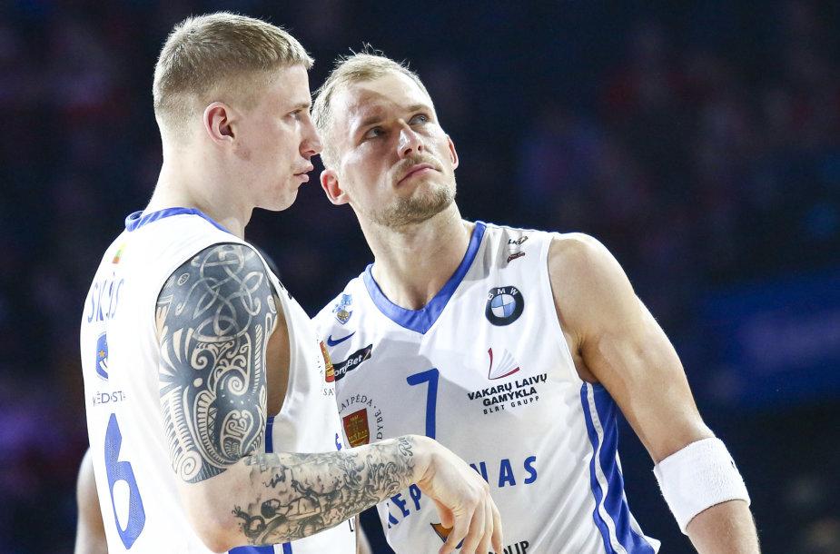 Arvydas Šikšnius ir Martynas Mažeika