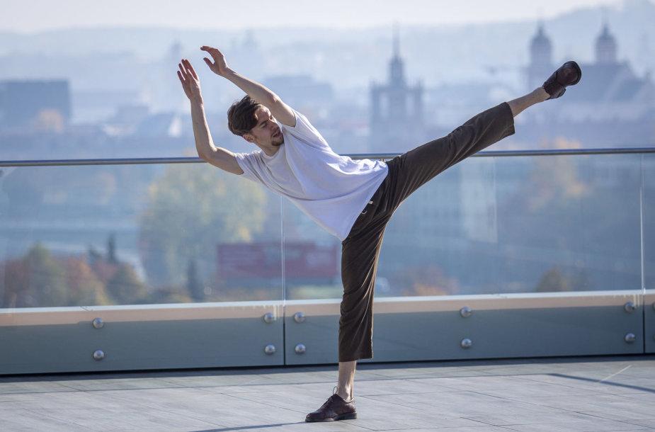 Medicinos mokslų daktaras ir šokėjas Mykolas Jocys