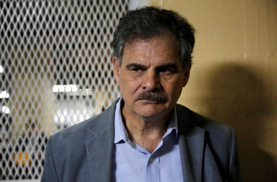 """""""Oxfam International"""" pirmininkas Juanas Alberto Fuentesas Knightas"""