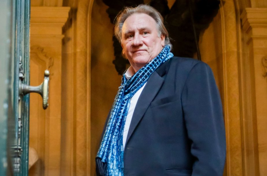 Aktorius Gerard'as Depardieu
