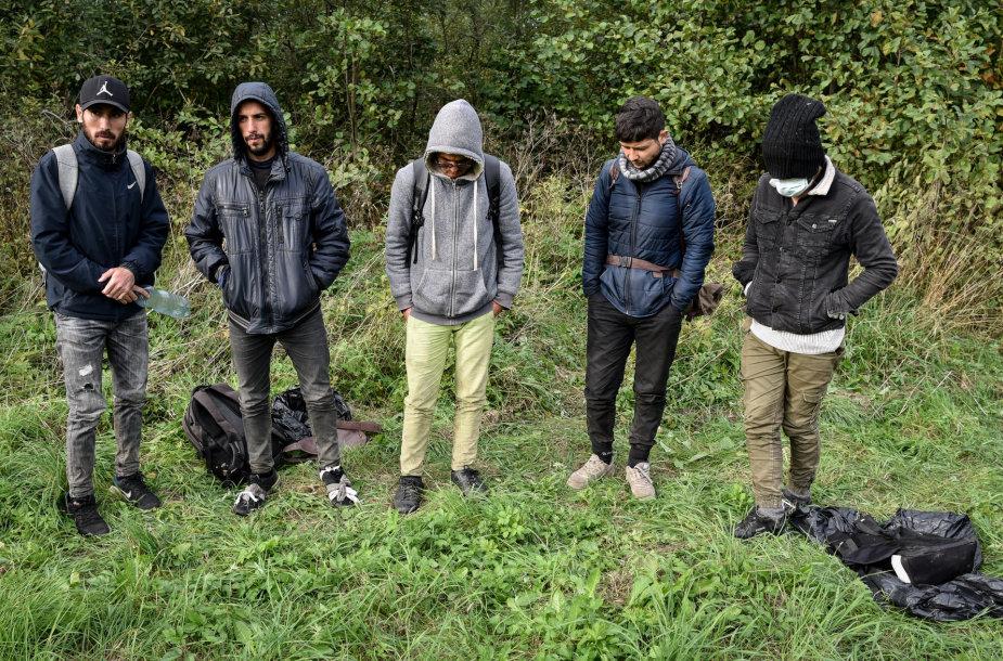 Penki afganistaniečiai, kurių EŽTT neleido išstumti iš Lietuvos teritorijos (Ignalinos r.)
