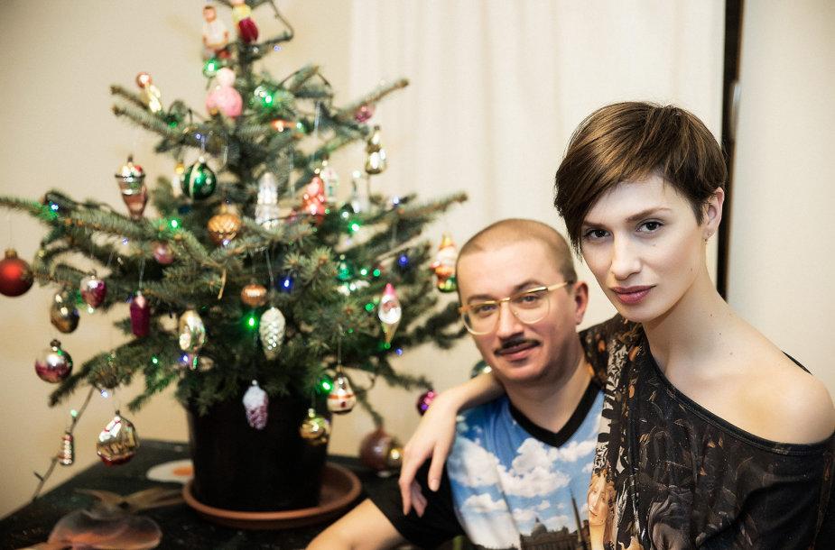 Monika Račiūnaitė ir Aleksandras Pogrebnojus