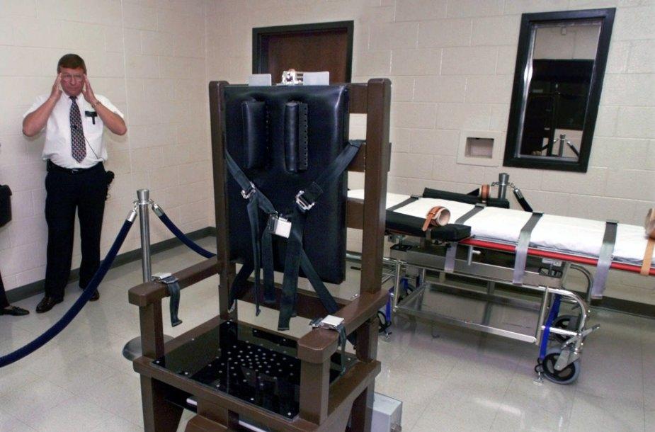 Elektros kėdė ir mirtinai injekcijai skirta lova