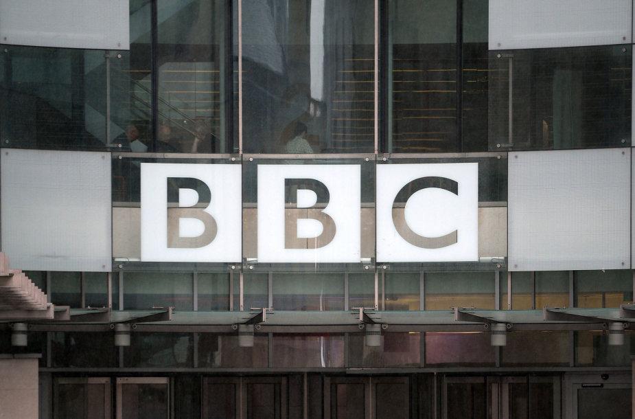 Britų visuomeninio transliuotojo BBC emblema