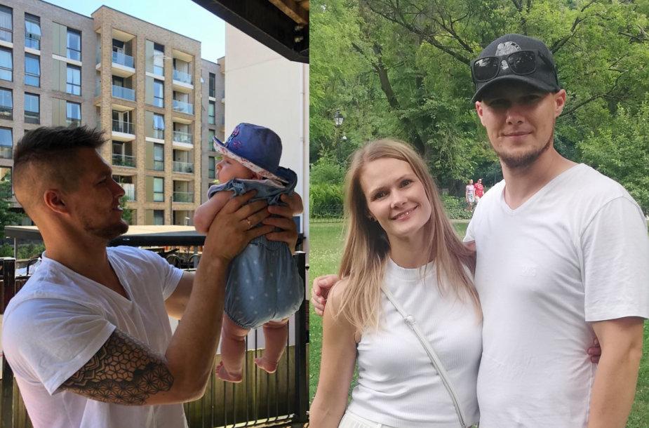 Aleksejus Metalnikovas su dukra, Aleksandra Metalnikova