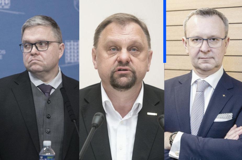 Vitas Vasiliauskas, Valdas Sutkus, Mantas Zalatorius