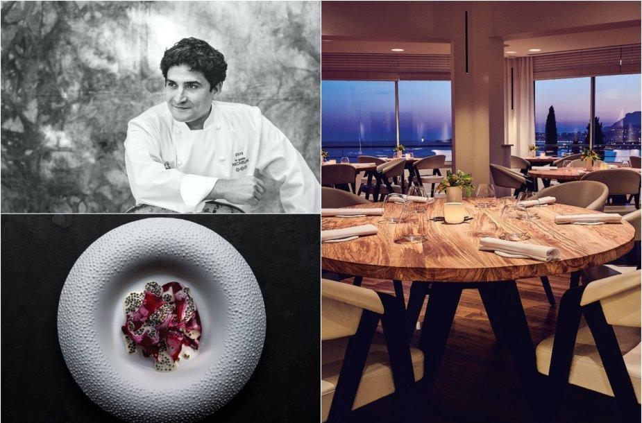 "Restorane ""Mirazur"" jo šefas Mauro Colagreco kuria kulinarines madas diktuojančius patiekalus"