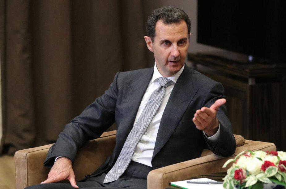 Basharas al Assadas Sočyje