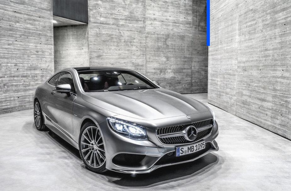 """""""Mercedes-Benz S klasės kupė"""""""