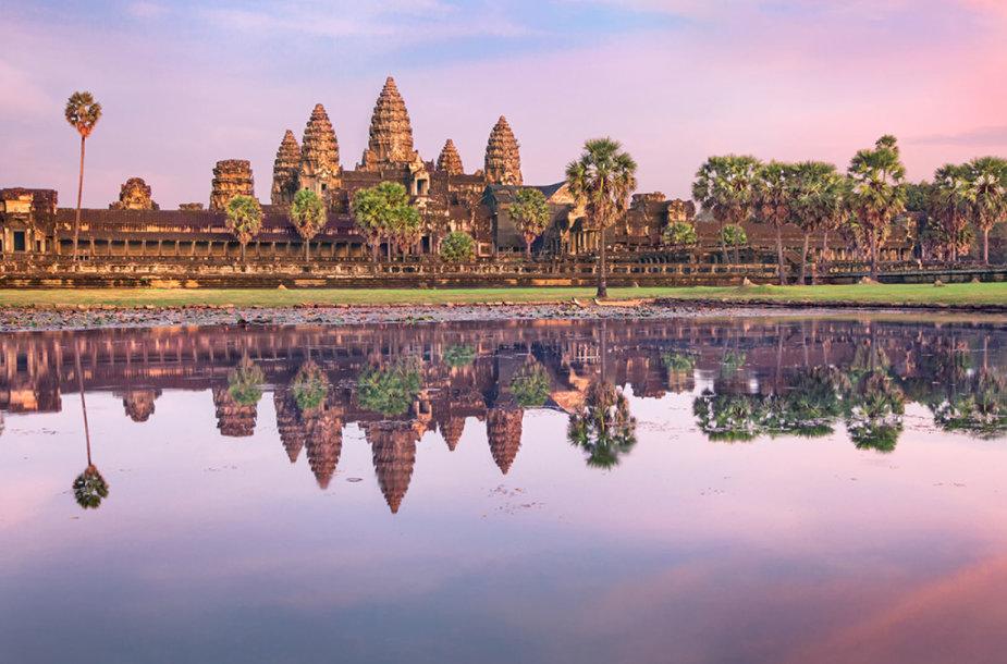 """""""Angkor Wat"""" šventykla Kambodžoje"""