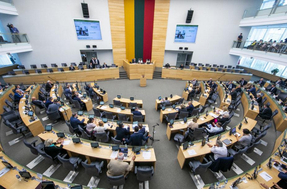 Seimo rudens sesijos pradžia