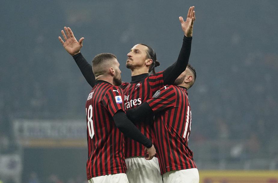 """AC Milan"" futbolininkai"
