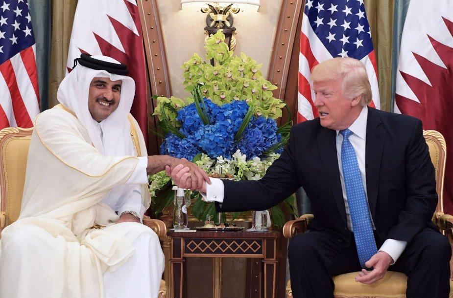 Kataro emyras šeichas Tamimas Bin Hamad Al-Thani